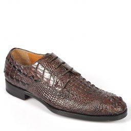 Giày tây cao cấp da cá sấu BQ676 – Nâu-0