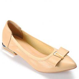 Giày cao gót BQ554 – GB 064 – Kem-0