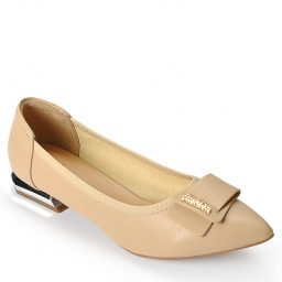 Giày cao gót BQ554 – GB 065 – Kem-0