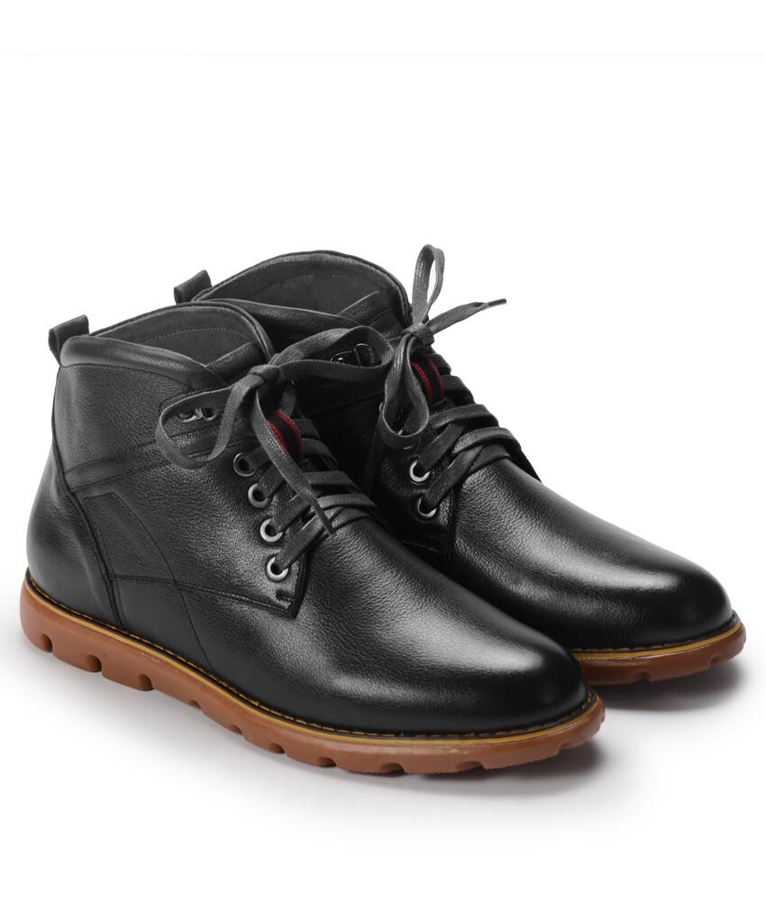 Giày bốt BQ982 - Bốt Demi 1001 - Đen-12922