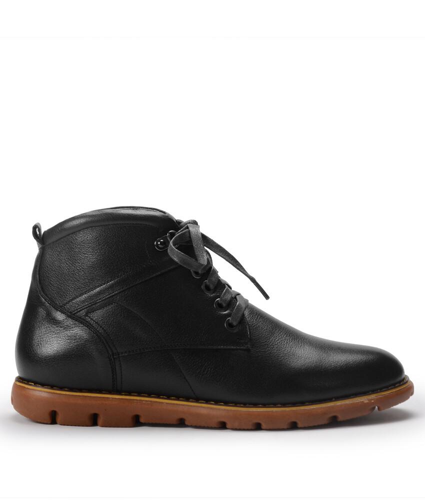 Giày bốt BQ982 - Bốt Demi 1001 - Đen-12918