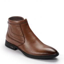 Giày bốt BQ982 – Bốt Demi 2277 – Nâu bò-0