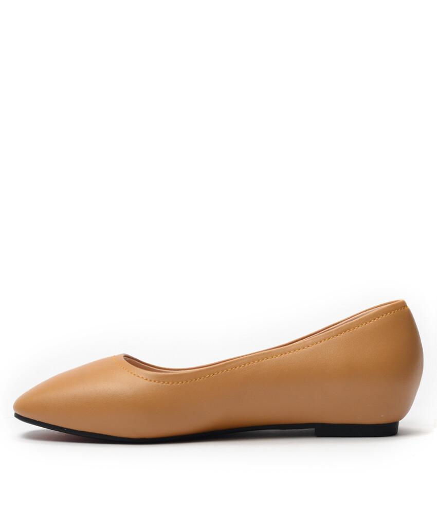Giày búp bê BQ756 - BB BQ1031 - Nâu bò-16757