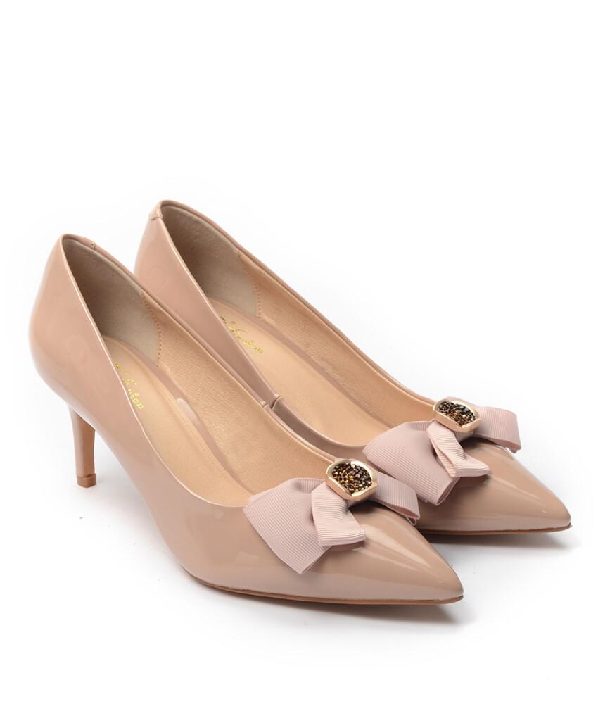Giày cao gót BQ547 - GB 547-222 - Kem-16597