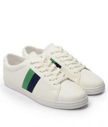 Giày Sneaker nam họa tiết color brick màu trắng, đế su GTT577-61 7