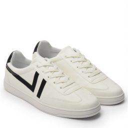 Giày Sneaker nam cột dây gạch viền màu đen, đế su GTT577-62 9