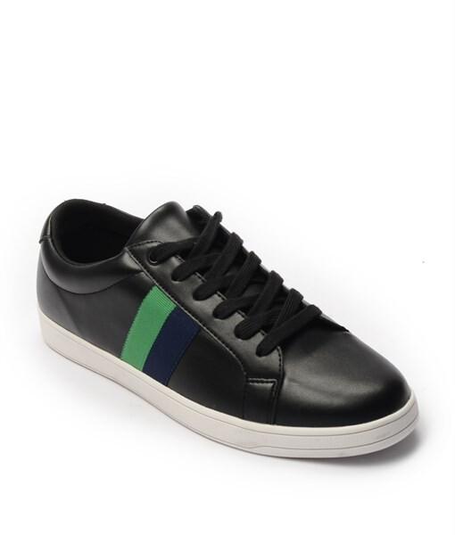 Giày Sneaker nam họa tiết color brick màu đen, đế su GTT577-61 1