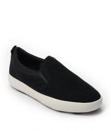 Giày Slip-on nam Suede màu đen, đế su GTT6236 6