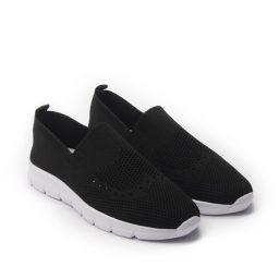 Giày Slip-on phối lưới thoáng khí cực êm màu đen, đế su GTT577-63 8