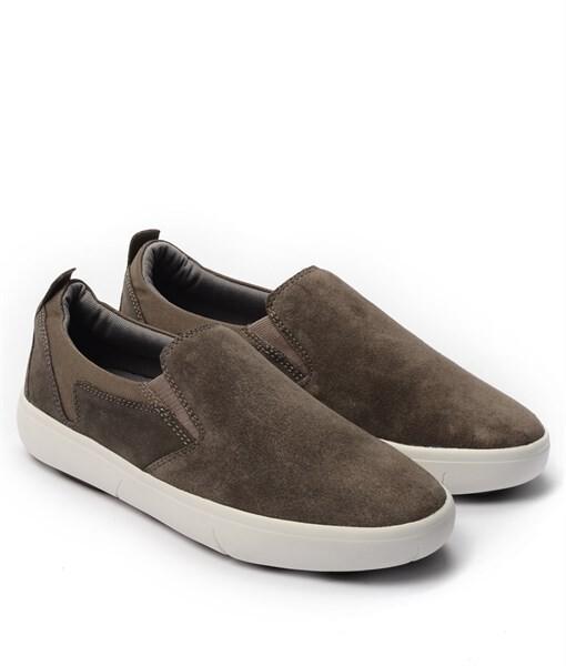Giày Slip-on nam Suede màu nâu, đế su GTT6236 2