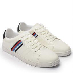Giày Sneaker nam Rainbow màu trắng, đế su GTT577-60 12