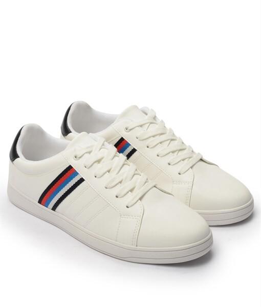 Giày Sneaker nam Rainbow màu trắng, đế su GTT577-60 2
