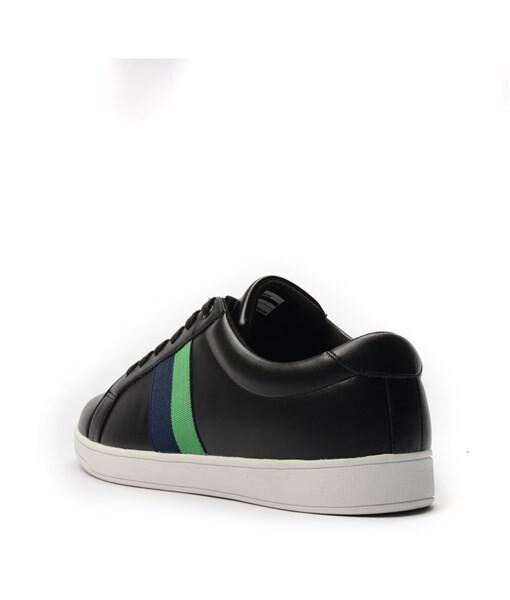 Giày Sneaker nam họa tiết color brick màu đen, đế su GTT577-61 4