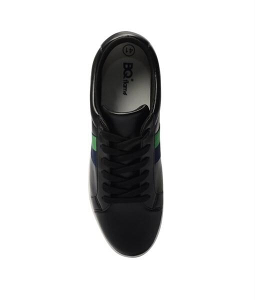 Giày Sneaker nam họa tiết color brick màu đen, đế su GTT577-61 3