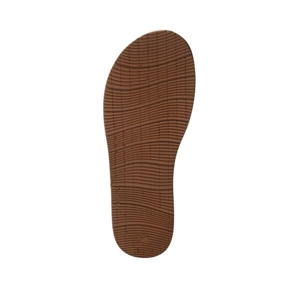 Xăng Đan nữ quai đan chéo phối chữ màu kem, đế su 2cm SDYM3 4