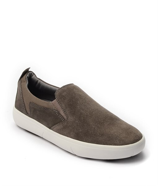 Giày Slip-on nam Suede màu nâu, đế su GTT6236 1