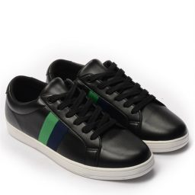 Giày Sneaker nam họa tiết color brick màu đen, đế su GTT577-61 11
