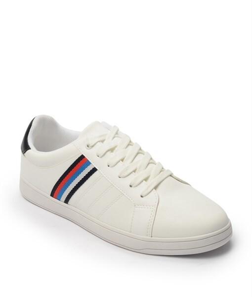 Giày Sneaker nam Rainbow màu trắng, đế su GTT577-60 1